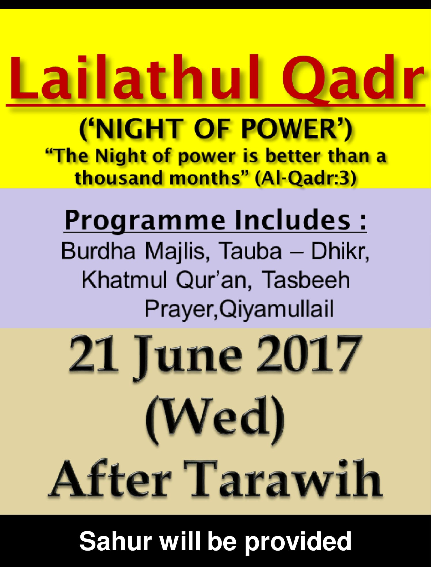 Lailatul Qadr 2017 latest-1